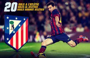 Leo Messi koszmarem Atlético Madryt