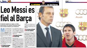 """Messi powiedział """"nie"""" Realowi"""