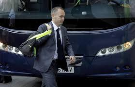 Iniesta odbierze nagrodę na Gali Aragońskiego Sportu