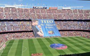 Camp Nou wspomina Tito Vilanovę