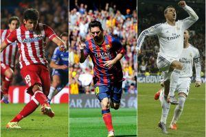 Atlético, Barça i Real w walce o mistrzostwo