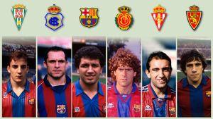 Sześciu byłych piłkarzy Barçy w roli trenerów