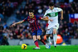 Elche CF – FC Barcelona; Składy