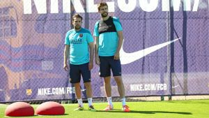 Piqué, Alba i Neymar z pozwoleniem na grę!