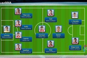 Jedenastka sezonu wg LFP bez piłkarzy Barçy
