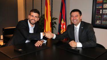 Gerard Piqué podpisał kontrakt!