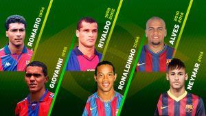 Sześciu Brazylijczyków z Barcelony na Mundialu