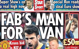 Van Gaal chce by Cesc był liderem Manchesteru United