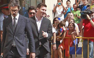 Messi zapłaci 35 mln euro Urzędowi Skarbowemu