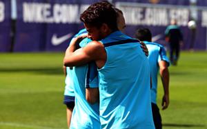 Jonathan dos Santos wraca do treningów z grupą!