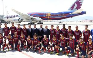Barça i Qatar Airways zaprezentowali nowy samolot w barwach blaugrana