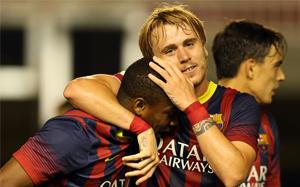 FC Barcelona B – R. Murcia: Demonstracja umiejętności (4:0)