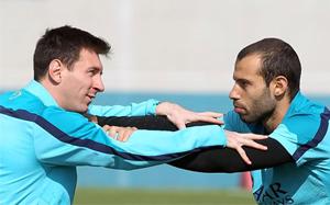 Mascherano: Messi zmieni chip przed Mundialem