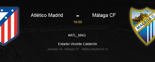 Relacja LIVE: Atlético Madryt – Málaga CF