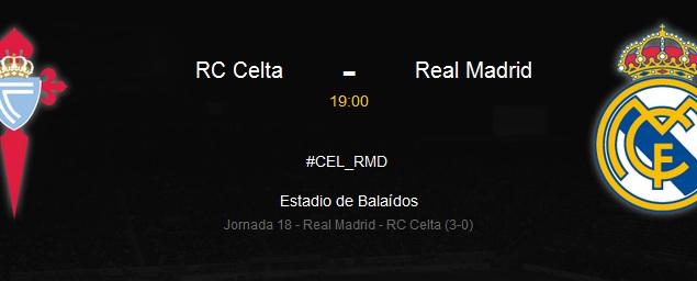 Relacja LIVE: Celta Vigo – Real Madryt