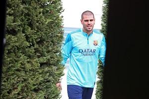 Valdés na leczeniu w Niemczech, opuści mecz z Atlético