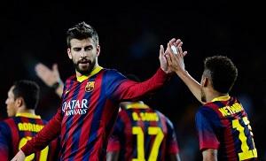 Piqué i Neymar będą gotowi na Atlético