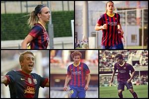 Pięciu z Barçy z nagrodami Futbol Draft!