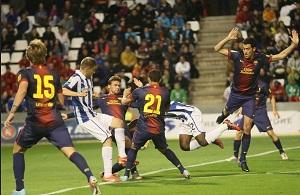 W finale Pucharu Katalonii z Espanyolem