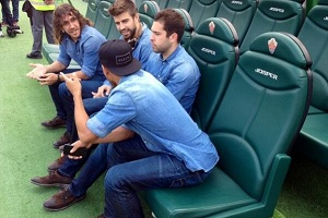 Kluczowe dni dla Piqué, Alby i Neymara