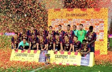 Trofeum sezonu: FC Barcelona 0(3)-0(2) RCD Espanyol