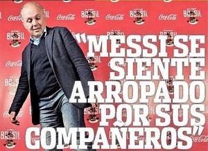 Sabella: Messi nie oszczędzał się na Mundial