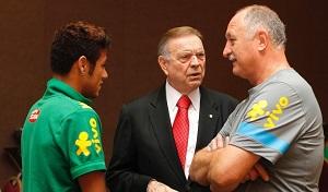 Scolari: Neymar jest najlepszy