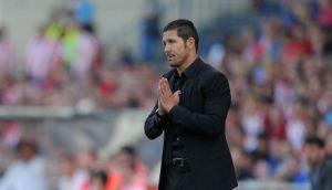 Simeone: Dwie drużyny z tą samą ilością punktów powinny zagrać w finale