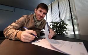 Messi wkrótce podpisze kontrakt
