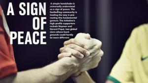 Neymar i Piqué – gwiazdy kampanii na rzecz pokoju
