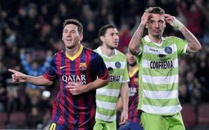 Getafe nigdy nie wygrało z Barçą na Camp Nou