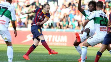 Remis, ale nadzieja na tytuł pozostaje: Elche CF – FC Barcelona (0:0)