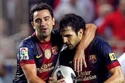 Cesc: Xavi i Puyol zdecydowali się usunąć w cień