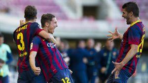 Zwycięstwo w ostatnim meczu u siebie; Barça B – Alcorcón 4:3