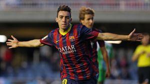 Trzecie miejsce na koniec sezonu; Hércules – Barça B 1:2
