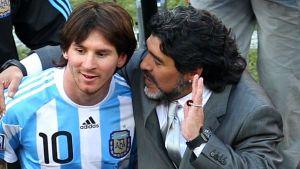 Maradona: Neymar jest teraz jak Pelé