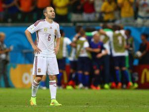 Iniesta: Nie potrafiliśmy zareagować