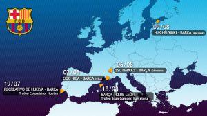 Presezon FC Barcelony nabiera kształtu