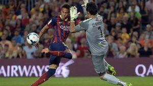 Bravo zawsze tracił gola przeciwko Barcelonie