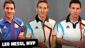 Trzy nagrody MVP dla Messiego