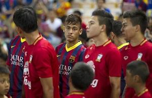 Barcelona zagra z Benfiką w presezonie