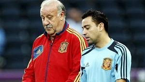 Del Bosque: Nie można łączyć wydajności Hiszpanii z zawodnikami Barçy