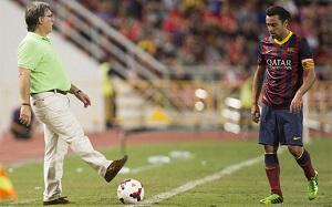 Xavi mógł być zawodnikiem-trenerem Barçy