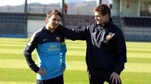 Vilanova przekonał Messiego do pozostania w Barçy