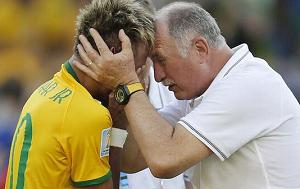 Scolari: Udo Neymara jest spuchnięte