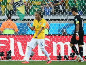 Neymar: Brawo Chile, to był dobry mecz