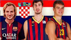 Rakitić podtrzymuje chorwacką tradycję FC Barcelony