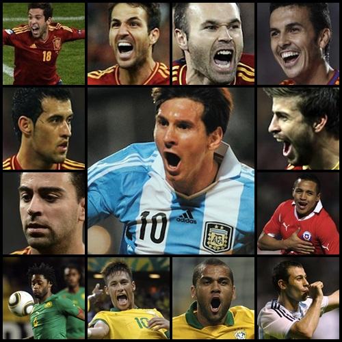piłkarze na Mundial