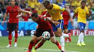 Tylko remis Brazylii