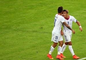 Hiszpania za burtą, Chile z awansem